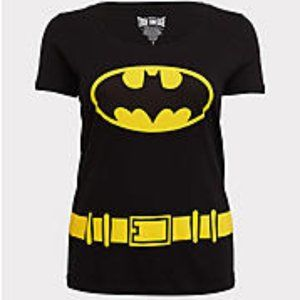 BATMAN BLACK HALLOWEEN COSTUME TEE